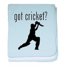 got cricket? baby blanket