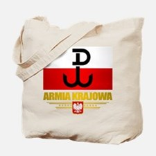 Armia Krajowa (Home Army) Tote Bag