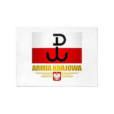 Armia Krajowa (Home Army) 5'x7'Area Rug