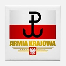 Armia Krajowa (Home Army) Tile Coaster
