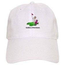 Goddess of Golf Baseball Cap