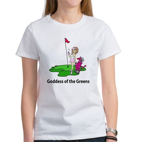 Goddess of Golf Women's T-Shirt