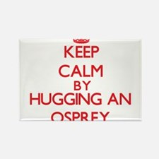 Keep calm by hugging an Osprey Magnets