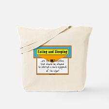 Enjoyment Of Cigar-Mark Twain Tote Bag