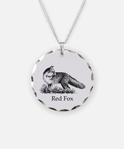 Red Fox (illustration) Necklace