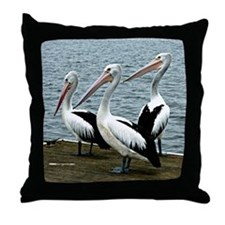 Pelicans 1-2-3 Throw Pillow