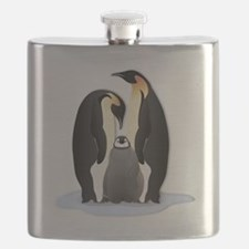 Penguin Family Flask