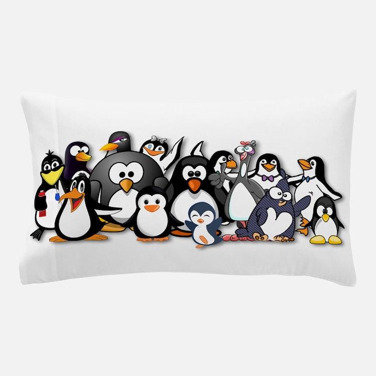 Penguins Pillow Case