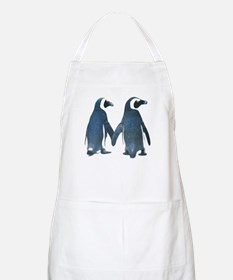 Penguins Holding Hands Apron