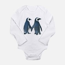 Penguins Holding Hands Body Suit