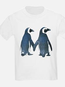 Penguins Holding Hands T-Shirt