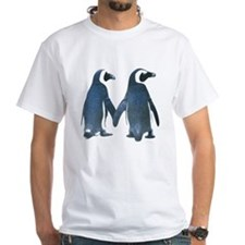 Penguins Holding Hands T-Shirt