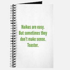 Haikus Are Easy Journal