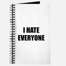 I Hate Everyone Journal
