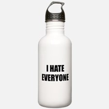 I Hate Everyone Sports Water Bottle