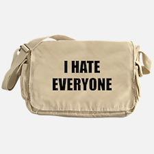 I Hate Everyone Messenger Bag