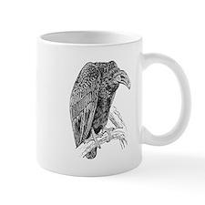 Vulture Sketch Mugs
