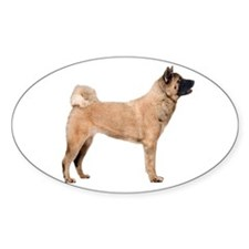 The Akita Oval Decal