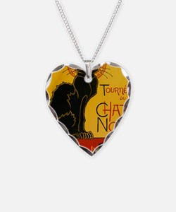 Chat Noir Vintage Necklace