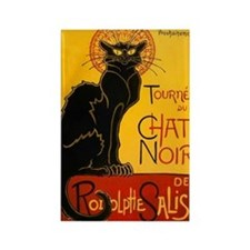 Le Chat Noir Rectangle Magnet