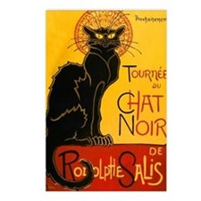 Le Chat Noir Postcards (Package of 8)