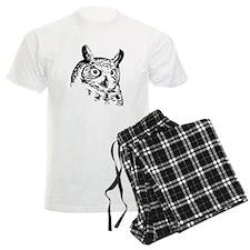 Owl Sketch pajamas