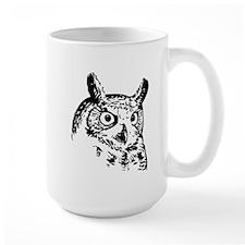 Owl Sketch Mugs