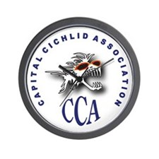 CCA Fishroom Wall Clock