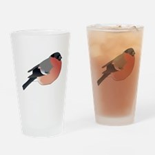 Eurasian Bullfinch Drinking Glass