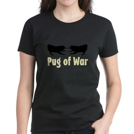 Pug of War - Women's Dark T-Shirt