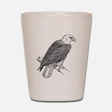 Bald Eagle Sketch Shot Glass