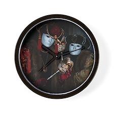 Portrait of Nobles Wall Clock