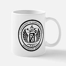 Division Zero Seal Black Mugs