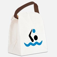 Water polo logo Canvas Lunch Bag