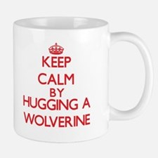 Keep calm by hugging a Wolverine Mugs