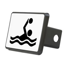 Water polo icon Hitch Cover