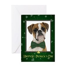 Boxer St. Patricks Day Cards