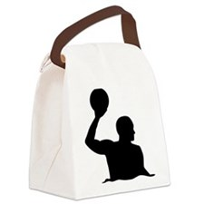 Water polo player Canvas Lunch Bag