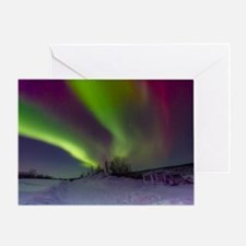 Greeting Card (1) - Aurora Borealis - Blank Inside