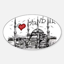 I love Istanbul Decal