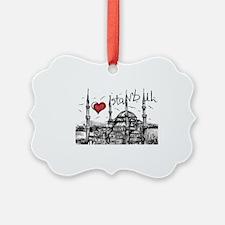 I love Istanbul Ornament