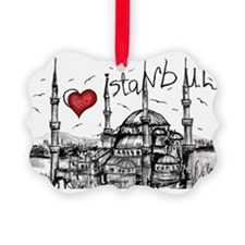 I love Istanbul Picture Ornament