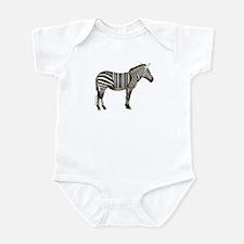 UPC Zebra Infant Bodysuit