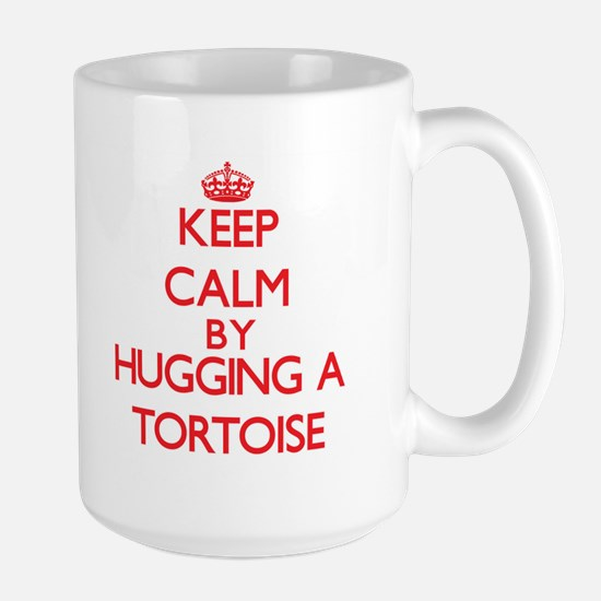 Keep calm by hugging a Tortoise Mugs