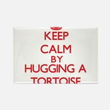 Keep calm by hugging a Tortoise Magnets