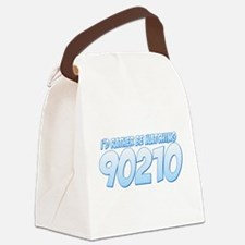 I'd Rather Be Watching 90210 Canvas Lunch Bag