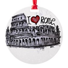 I love Rome  Ornament