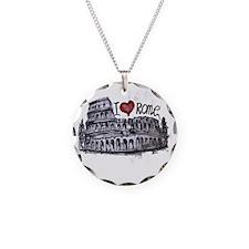 I love Rome  Necklace