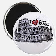I love Rome  Magnet