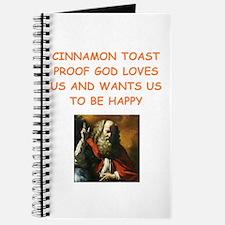 cinnamon toast Journal